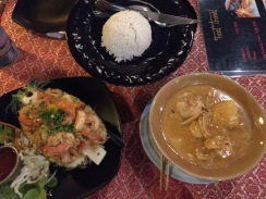 Too much of a good thing....is a good thing when it's Thai food.