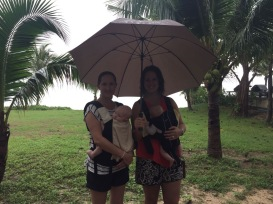 Even a rainy day in Thailand is great!