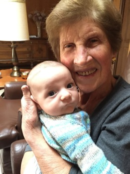 Campbell meets my Gran-ma...so heartwarming!