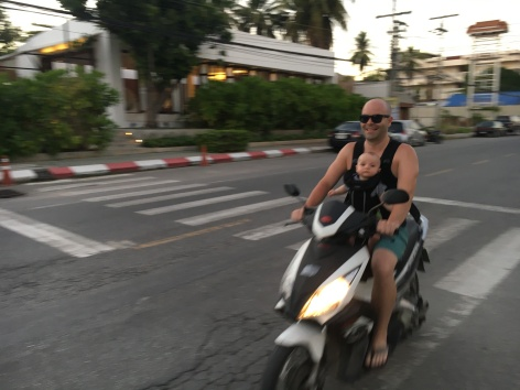 First (and only!) time on a scoot.
