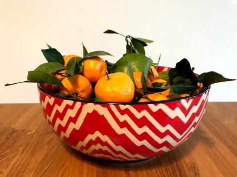 My favourite serving bowl suddenly felt Christmas-y in December!
