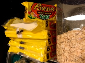 Your math is right - that's 30 Reese's eggs.