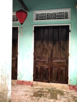 Beautiful colours and doors.