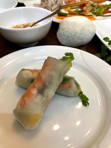 Fresh spring rolls - so delicious!