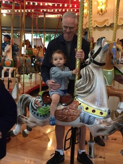 Happy with their horse choice.