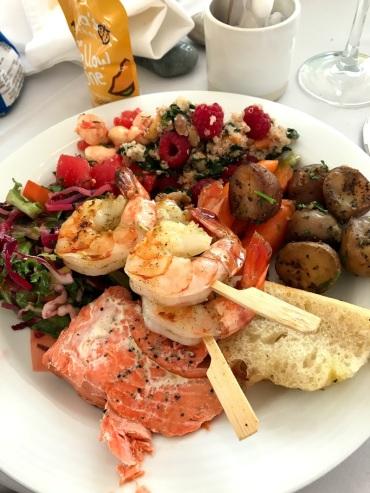 Incredible food at the wedding!