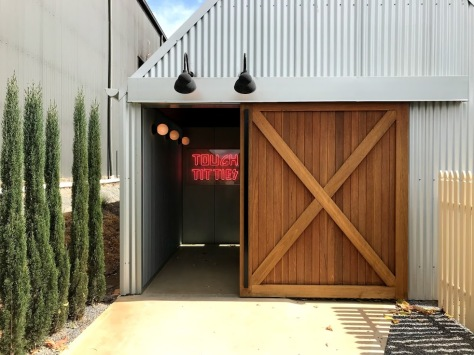 Funky Adelaide winery.